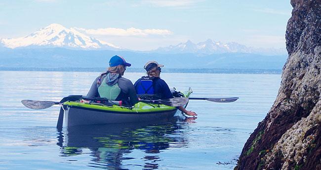 Kayak near Lummi Island