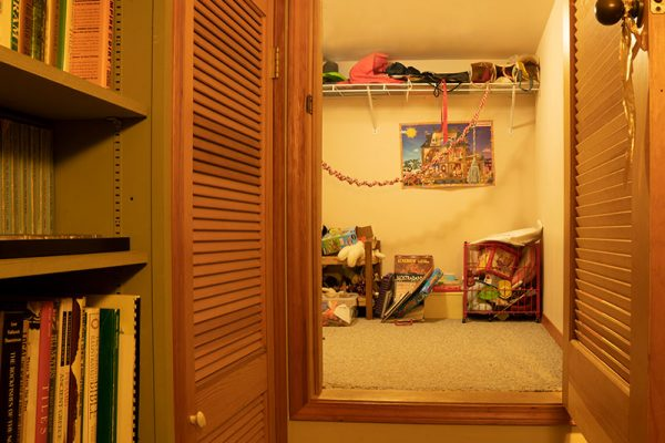 Farmhouse kids cubby downstairs